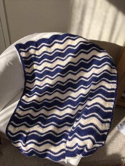 Chevron Lap Blanket