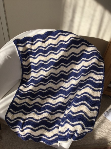 Chevron Lap Blanket